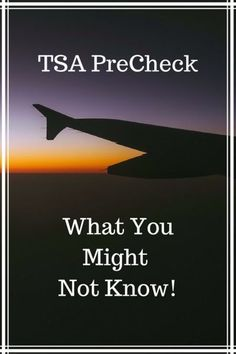 """TSA PreCheck Locations & What You Might Not Know! -- Find out what you are missing with this """"benefit"""" **REPIN to your travel tips board**"""