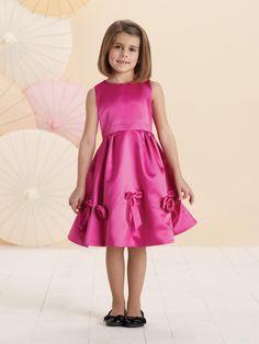 Joan Calabrese for Mon Cheri 214372 Sleeveless Flower Girl Dress - French Novelty