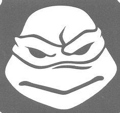 Ninja Turtle 3 Layer Stencil