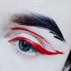"5,675 Likes, 34 Comments - IDA EKMAN (@ida_elina) on Instagram: ""@suvabeauty Dark Humor & @limecrimemakeup Red Velvet + Teacup  #limecrime #eyeart #suvabeauty"""