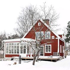 Loppisfynd förgyller vacker 1930-talsvilla i Småland
