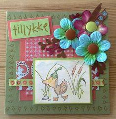 Nicolettes PapirBlog: Fødselsdagskort til Stinne
