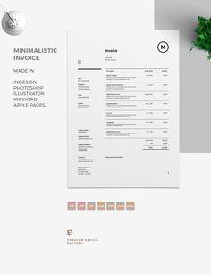 Photography Invoice template   Invoice design   Receipt template     Similar ideas