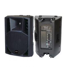 Cabina Amplificada (Activa) B&L de 1200W PMPO RXA15P480UBFM - Negro