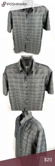 Johnston & Murphy Modal Blend XL Men's Shirt Excellent used condition!   Pit to pit= 25.5 Top of collar to bottom=32.5 Johnston & Murphy Shirts Casual Button Down Shirts