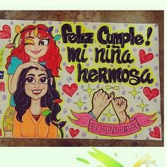 Birthday Gifts For Best Friend, Best Friend Gifts, Gifts For Friends, Best Friends, Ideas Aniversario, Bff Drawings, Ideas Para Fiestas, Happy B Day, Bff Pictures