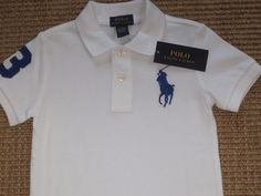 Ralph Lauren Boys Sweater 4 4T Gray Blue Big Pony Cotton