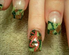 Browning Camo nails (so Cool!)