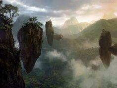 Resultado de imagem para ilhas voadoras