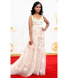 And this years emmys dress... flawless! Kerry Washington - Emmys 2013