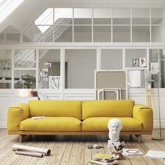 Rest Sofa 2-Seater Designer: Anderssen & Voll Manufactured by: Muuto…