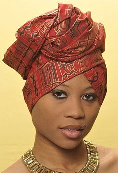 African Head Scarf | Scarves, head wraps, and turbans? - Black Hair Media Forum - Page 1