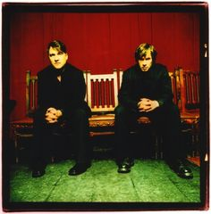 GUTTER TWINS 2007 Greg Dulli and Mark Lanegan new orleans la. photographed by Sam holden
