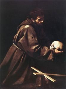 """Saint Francis"" by Caravaggio."