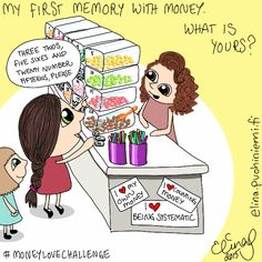 Palasia sateenkaaresta: My First Memory With Money