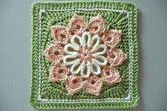Crochet flower. Very cute