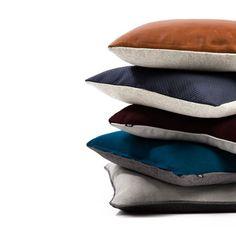 L Æ D E R - S T O F - Q U I L T ♡ #sofakompagniet #puder #boligindretning #danskdesign #danishdesign #scandinaviandesign #boliginspiration