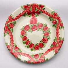 uschi Decorative Plates, Tableware, Design, Home Decor, Red, Green, Tablewares, Dinnerware, Decoration Home