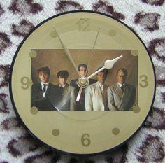 Spandau Ballet 7 Vinyl Wall Clock by Klicknc on Etsy
