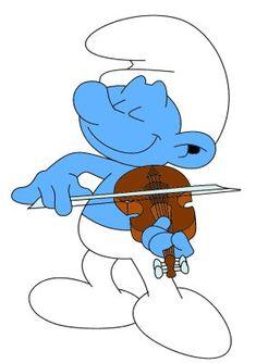 Fiddler Smurf