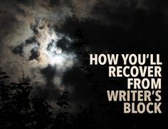 Every writer will face writer's block at some point. Don't beat yourself up over it—instead, fall in love with stories again.