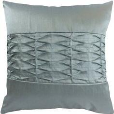 "Amazon.com: Decorative 3D Geometric Pattern Throw Pillow Cover 18"" Blue Haze: Furniture & Decor"