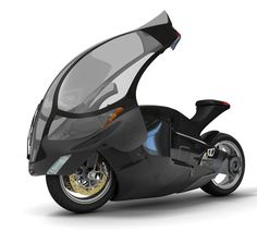 High Speed Motorcycle, future, vehicle, futuristic, concept, motorbike, Phil Paulev, bike, Crossbow motorcycle