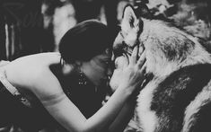 Women and wolf Der Steppenwolf, Foto Fantasy, Amazing Animals, Wolves And Women, The Ancient Magus Bride, Wolf Love, Beautiful Wolves, Wolf Spirit, Wolf Girl