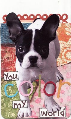 You Color My World ATC