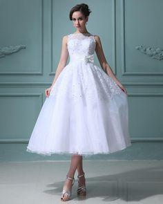 2012 Sweep Organza Zipper Short Celebrity Wedding Dress
