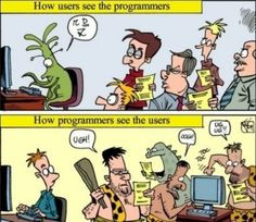 It's funny 'cause it's true.  At least from the programmer perspective ;)