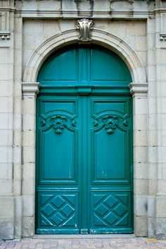 St. Malo, Brittany (France), a fun christmas card idea would be to photoshop christmas decorations onto these doors