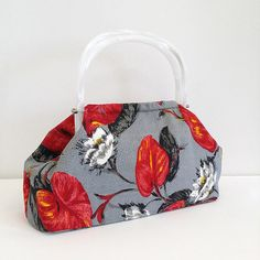 ZStitch, Vintage inspired handmade handbags in Woodstock Retro Fabric, Handmade Handbags, Fabric Bags, Woodstock, Vintage Inspired, Range, Inspiration, Clothes, Fashion