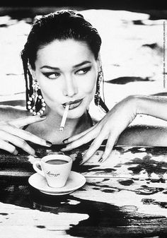 Lavazza calendar 1995 by Ellen von Unwerth. https://goachi.leadpages.net/magazine/