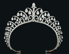 A diamond tiara by Cartier, London, 1920's.