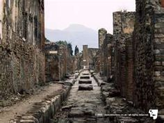 Pompei...one of the most amazing places I have ever been in my life.  A must see for everyone in the world.  (Those big blocks in the road were *speed bumps* for chariots!  No kidding!!)