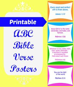 Life with Moore Babies: ABC Bible Verses