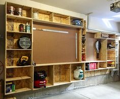 Storage  cabinets done! #ArtistspaceCA #design #homerenovation #storagecabinet #woodwork #storagegarage #Ontario #Canada de artistspace.ca
