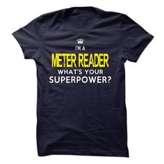 (New Tshirt Design) METER READER [Tshirt design] Hoodies, Funny Tee Shirts