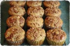 Rhubarb Muffins - TONS of muffin recipes! Russian Desserts, Russian Recipes, No Bake Desserts, Dessert Recipes, Czech Recipes, Yummy Food, Tasty, Healthy Baking, No Cook Meals