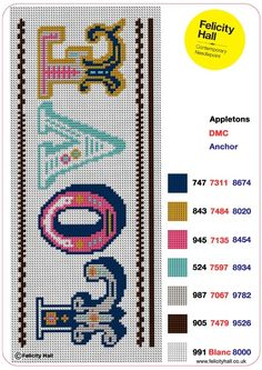 Felicity Hall | Needlepoint Chart