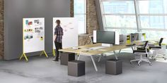 Ready to make a breakthrough? We can help you with that. Collaboration desks and tables are perfect for creative studios and larger spaces where you need to spread out and share ideas.