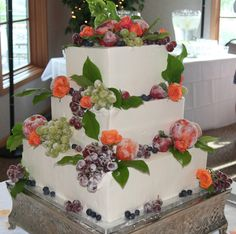 I like this one with fresh fruit instead of sugared fruit