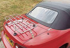 Mazda MX5 MK1//2 Luggage Boot rack Aluminium and Wood