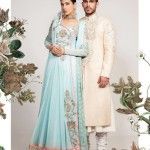 Beautiful Wedding Dresses Collection 2014 For Men and Women By Fahad Hussain