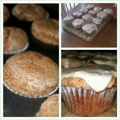 My cinnamon streusel #cupcakes with maple frosting #vegan #glutenfree #EatingWhole #gflove