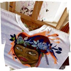 Custom art clothing/hand painting by Mia Maix