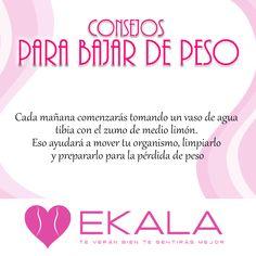 Toma en las mañanas agua tibia con limón y ayúdale a tu organismo. #verteysentirtemejor #ekala