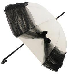 Umbrella anyone ?! Rainy day in London... (Chantal Thomass)