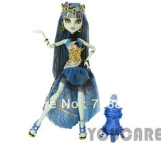 Genuine Original Monster High dolls/13 Wishes series Haunt the Casbah Frankie Stein Doll/Free shipping fashion toys